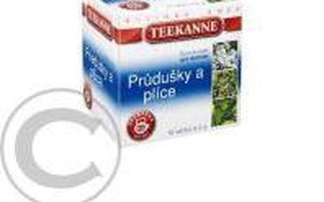TEEKANNE Průdušky a plíce bylinný čaj nálevové sáčky 10x2g
