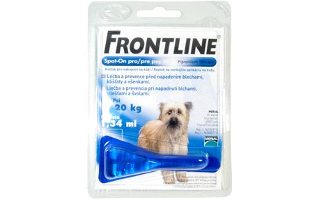 FRONTLINE SPOT-ON DOG M A.U.V. SOL 1X1,34ML