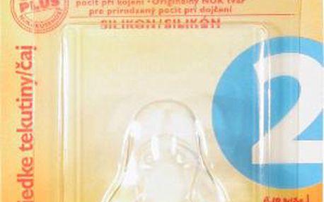 NUK-Dudlík na láhve-čaj(6-18)silik.1ks