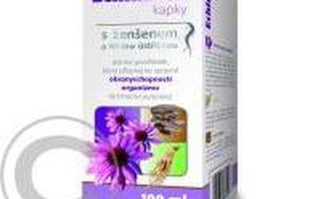 Echinaceové kapky Imunit s ženšenem a hlívou 100ml