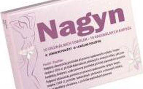 HEATON k.s. NAGYN 10 vaginálních tobolek