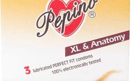 Prezervativ Pepino XL Anatomy 3ks