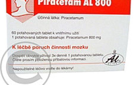 PIRACETAM AL 800 60X800MG Potahované tablety