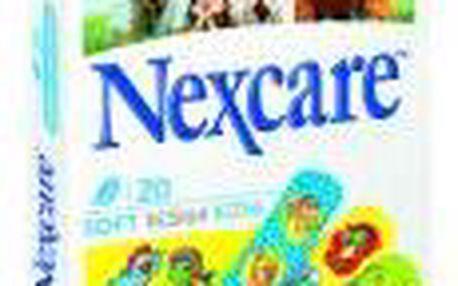 3M Nexcare KIDS 20 SOFT Design 20 kusů