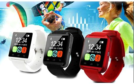 Smart Watch - chytré hodinky s českým menu, poštovné zdarma