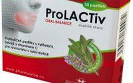 Prolactiv Oral Balance 30 pastilek