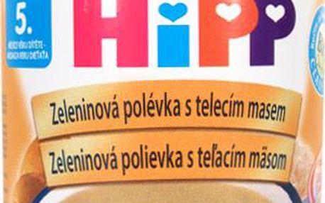 HIPP POLEVKY BIO Zeleninová s telecím 190 g CZ7983
