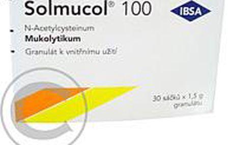 SOLMUCOL 100 30X100MG-SÁČ Granule