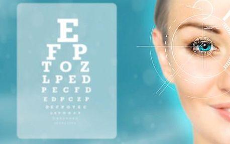 Bezbolestná laserová operace očí s kompletní péčí v Očním centru Dr. Rau v Praze