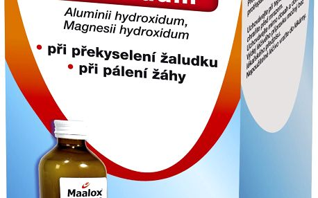MAALOX SUSPENZE 1X250ML Suspenze
