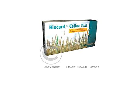 Biocard Celiac-test 1ks