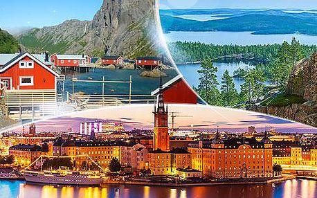 Norsko a Švédsko - Laponsko a Lofoty! 16denní zájezd busem pro 1 osobu 16.-31.7.2016, bohatý program, průvodce!