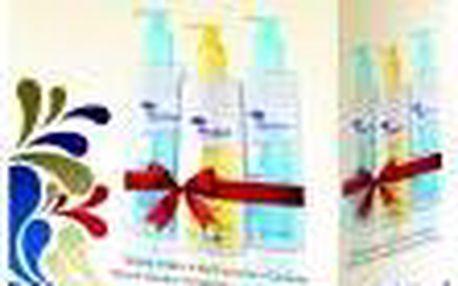 Menalind speciální péči o namáhanou pokožku Mycí emulze 500ml + ošetřující šampon pro suchou a citlivou pokožku 500ml + tělové mléko 500ml