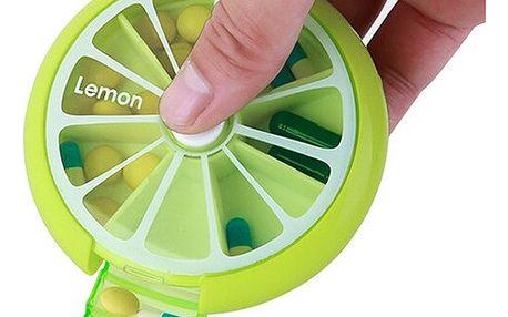 Krabička na léky v designu ovoce