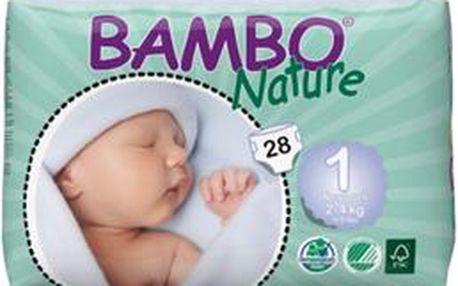 Bambo Nature New Born plenkové kalhotky 2 - 4 kg 28 ks