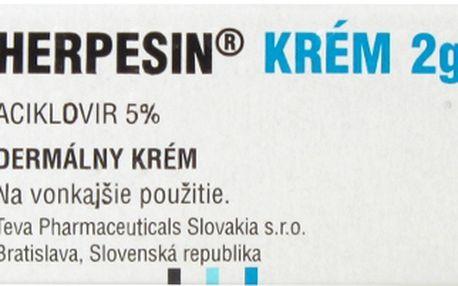 HERPESIN KRÉM 1X2GM 5% Krém