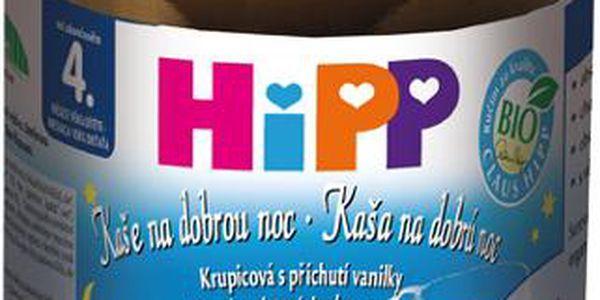 HIPP kaše na dobrou noc BIO s příchutí vanilky 190g CZ5160