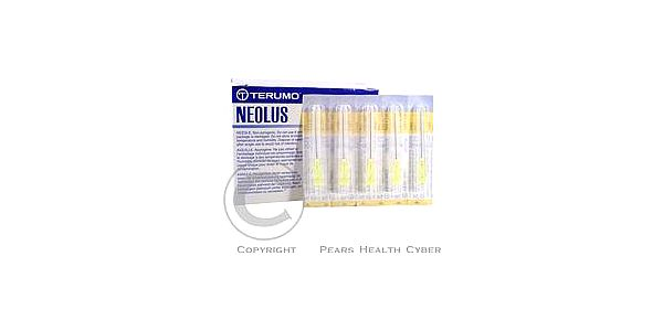 Injekční jehla 0.90x40 100 ks žlutá TERUMO NN-2038R