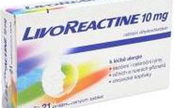 LIVOREACTINE 10 MG 21X10MG Potahované tablety