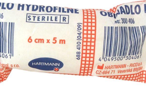 HARTMANN-RICO Obin. hydrofil.pletené sterilní 6cmx5m 3004060