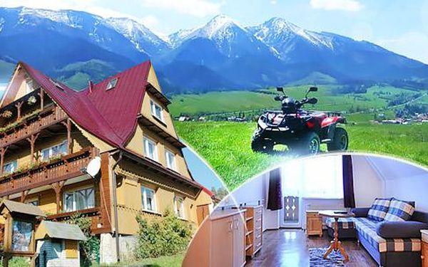 Vysoké Tatry, Ždiar až na 5 dní pro 2 osoby se snídaněmi v privátu Bayer s množstvím slev na Slovensku i v Polsku.