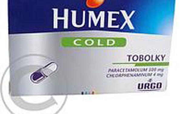 HUMEX COLD 16 Tobolky
