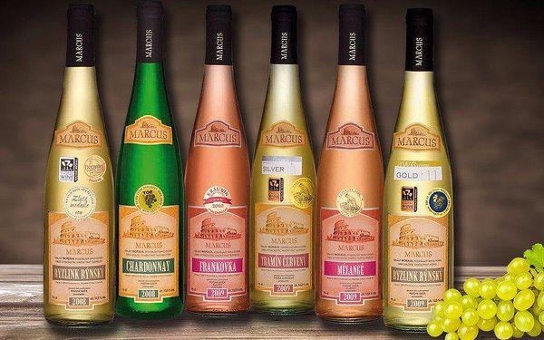6 výběrových vín z Mikulovska