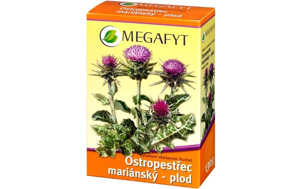 MEGAFYT Ostropestřec mariánský plod 130 g