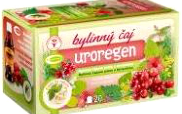 TOPVET Uroregen čaj 20 sáčků