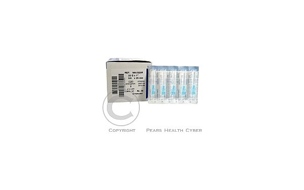 TERUMO NN-2325R Injekční jehla 0.60x25 100 k