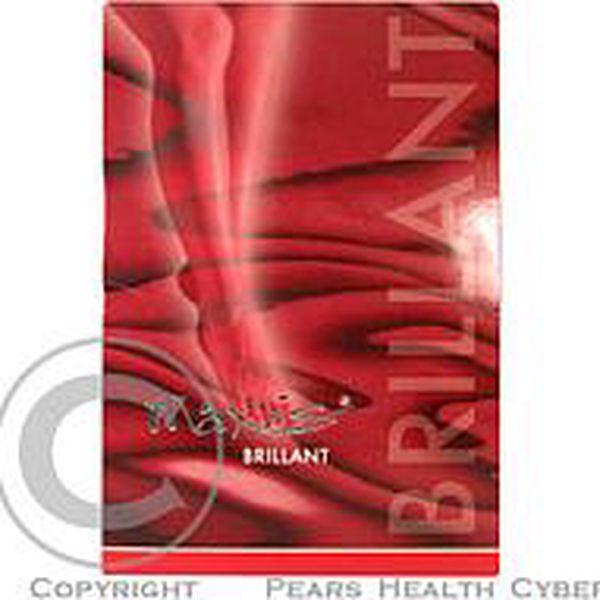 Maxis BRILLANT-stehenní punčocha velikost 5+N lemovaná bronzová bez špičky