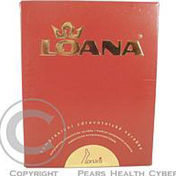 Lonaris Cotton - lýtková punčocha KTII 2D - plus - ot karamel