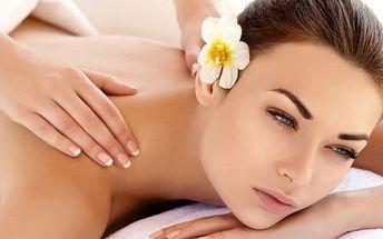 Relaxační masáž s rašelinovým zábalem