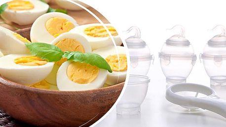 Formičky pro snadné vaření vajíček - 6 ks! Už žádné loupání skořápek! Je libo na měkko, hniličku či na tvrdo?