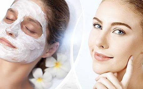 Kosmetické ošetření pleti v délce 60 minut. Čištění, peeling, tonizace, masáž, maska a krém v Brně.
