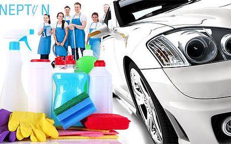 Kompletní čištění interiéru a exteriéru vozu včetně tepování + dárek zdarma