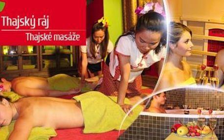 Thajské masáže s rybkami Garra Rufa i romantická partnerská relaxace v Thajském ráji na Praze 1!