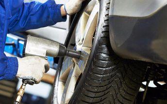 Kompletní přezutí pneumatik na léto