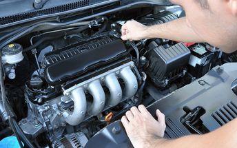 Profi čištění motoru: snížení emisí před STK