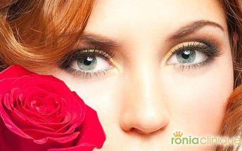 Komplexní vyhlazení očního okolí a pozvednutí očních víček v Ronia Clinique v Praze