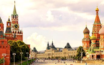 5 dní v Moskvě s možností zajít na MS v hokeji