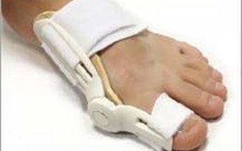 Prstový fixátor, pomůcka na zmírnění vybočujícího palce se slevou 50%! Vhodné pro muže i ženy.