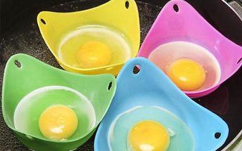 Silikonové lodičky na úpravu vajec
