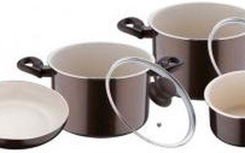 Sada nádobí 7 ks Bellini hnědá BERGNER BG-7000hned