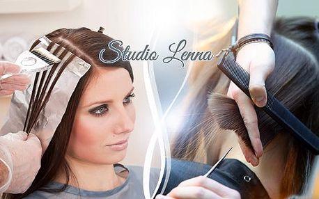 Kompletní kadeřnický balíček s kosmetikou Alcina. Mytí, střih a barvení nebo melír bez doplatku za dlouhé vlasy!