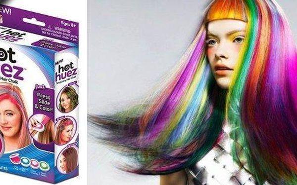 Omyvatelné vlasové barvy s rychlým aplikátorem. Uniformita není trendy, oživte svůj účes, copánek nebo drdol a buďte každý týden jiná! Vhodné na všechny typy a barvy vlasů a pro ženy, slečny i dámy, buďte hravé a originální!