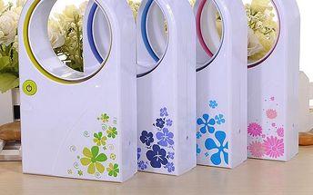 Mini větrák v originálním designu - na výběr ze 4 barev