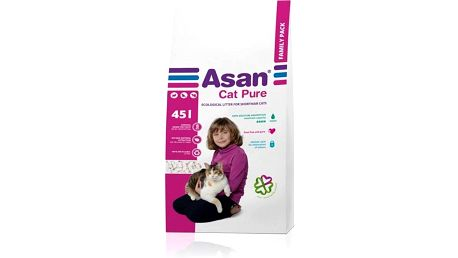 Kočkolit Asan Cat Pure 45l