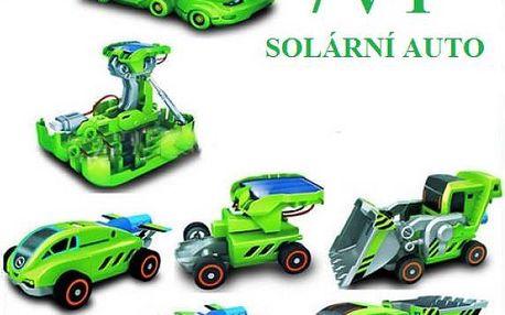Interaktivní hračka 7 v 1 na solární pohon