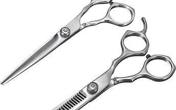 Kadeřnické nůžky - na výběr ze 2 ostří